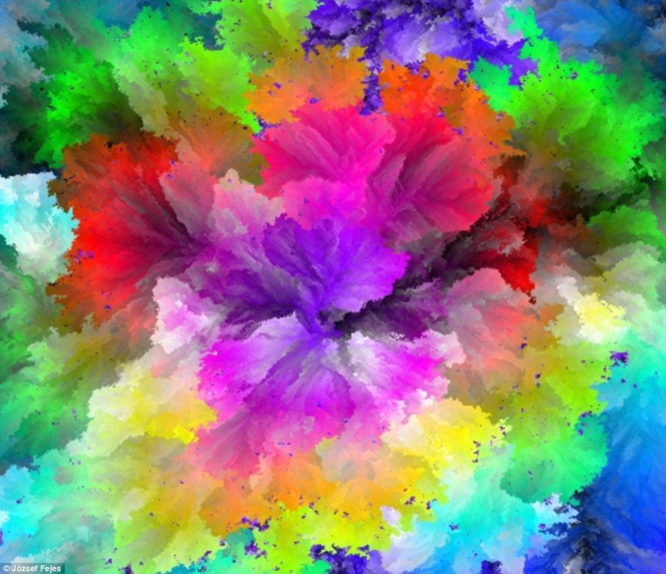 colour colours amazing software single rainbow colors million using random paint still creates second screen light intensity based different 3d